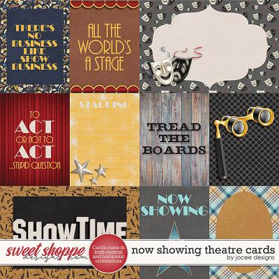 Now Showing Theatre Cards by JoCee Designs