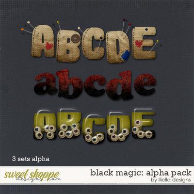 Black Magic: Alpha Pack by lliella designs