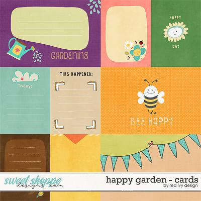Happy Garden - Cards by Red Ivy Design