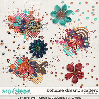 Boheme Dream: SCATTERZ by Studio Flergs
