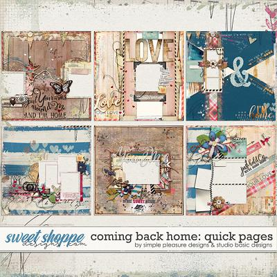Coming Back Home Quick Pages by Simple Pleasure Designs and Studio Basic