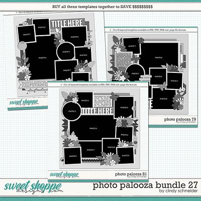 Cindy's Layered Templates - Photo Palooza Bundle 27 by Cindy Schneider