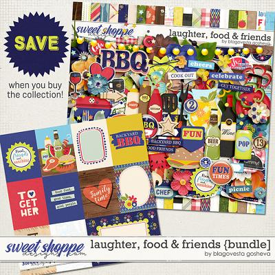 Laughter, Food & Friends {bundle} by Blagovesta Gosheva