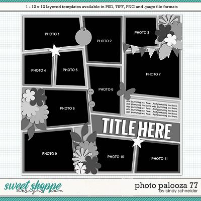 Cindy's Layered Templates - Photo Palooza 77 by Cindy Schneider