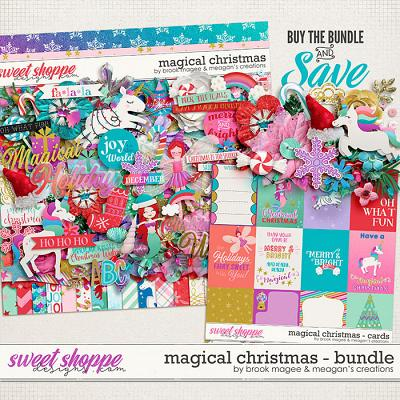 Magical Christmas Collection Bundle by Brook Magee and Meagan's Creations