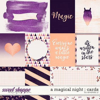 A Magical Night : Cards by Amanda Yi