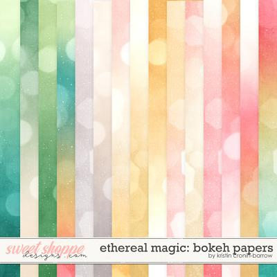 Ethereal Magic: Bokeh Papers by Kristin Cronin-Barrow
