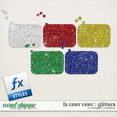 Fa Rawr Rawr : Glitters by Meagan's Creations