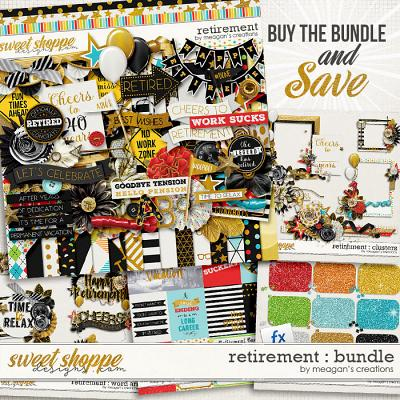 Retirement : Bundle by Meagan's Creations