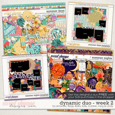 *FREE with your $20 Purchase* Dynamic Duo #2 by Amanda, Lliella, Flergs, Kelly, Bobbie, Meg & Cindy