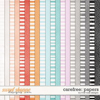 Carefree: Papers by River Rose Designs