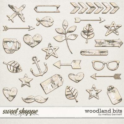 Woodland Bits by Melissa Bennett