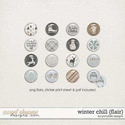 Winter Chill Flair by Ponytails