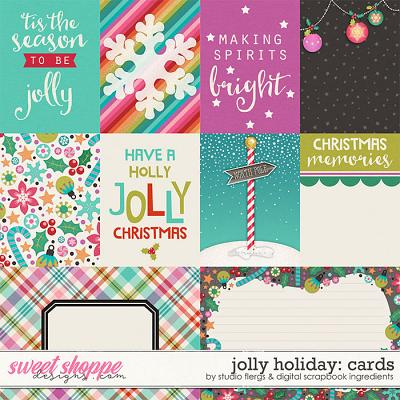 Jolly Holiday | Cards by Studio Flergs & Digital Scrapbook Ingredients