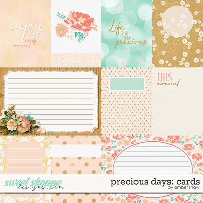 Precious Days: Cards by Amber Shaw