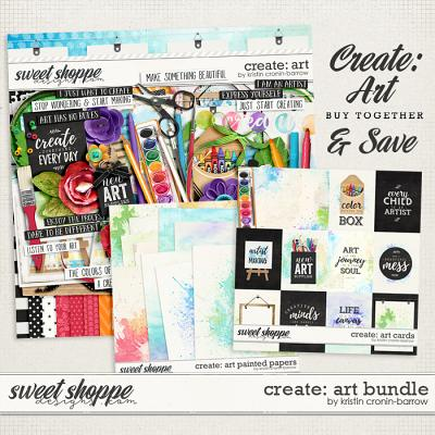 Create: Art Bundle by Kristin Cronin-Barrow