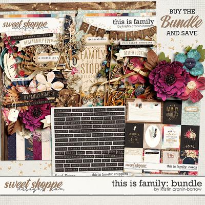 This is Family: Bundle by Kristin Cronin-Barrow