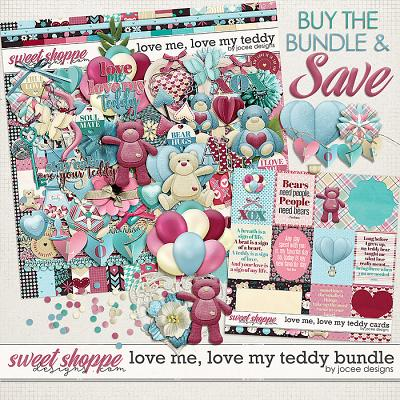 Love Me Love My Teddy Bundle by JoCee Designs