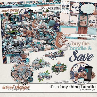 Its a Boy Thing Bundle by JoCee