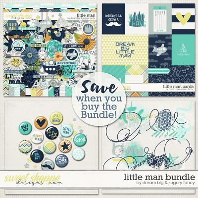 Little Man Bundle by Dream Big Designs and Sugary Fancy