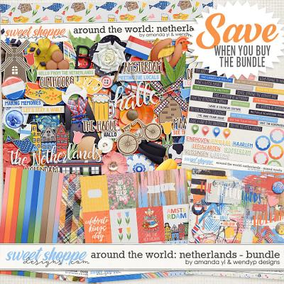 Around the world: Netherlands - Bundle by Amanda Yi & WendyP Designs