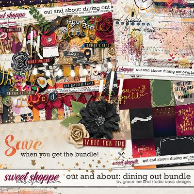 Out and About: Dining Out Bundle by Grace Lee and Studio Basic