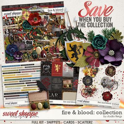 Fire & Blood: COLLECTION & *FWP* by Studio Flergs