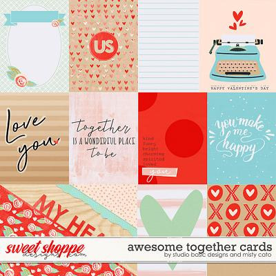 Awesome Together Cards by Studio Basic Designs and Misty Cato