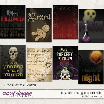 Black Magic: Cards by lliella designs