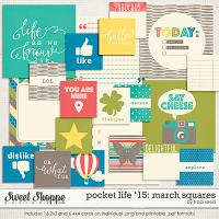 Pocket Life '15: March Squares by Traci Reed