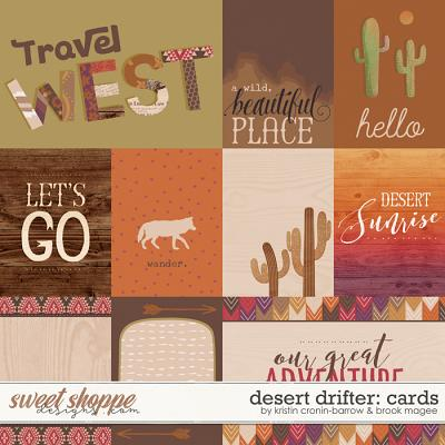 Desert Drifter: Cards by Kristin Cronin-Barrow and Brook Magee