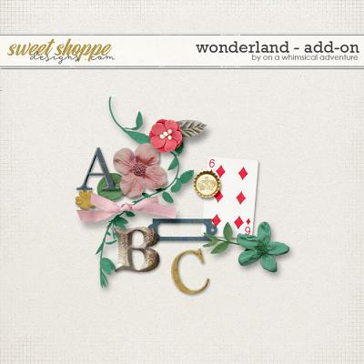 Wonderland Addon by On A Whimsical Adventure