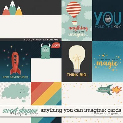 Anything You Can Imagine: Cards by Shawna Clingerman