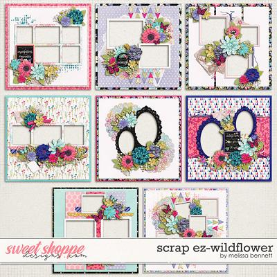 Scrap EZ-Wildflower by Melissa Bennett