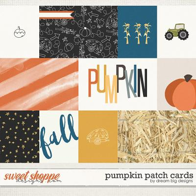 Pumpkin Patch Cards by Dream Big Designs