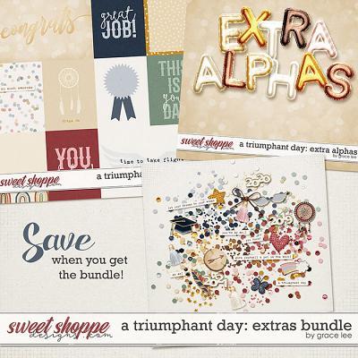 A Triumphant Day: Extras Bundle by Grace Lee