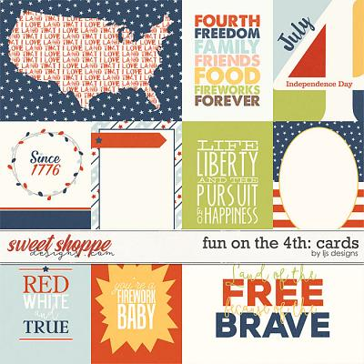 Fun On The 4th: Cards by LJS Designs