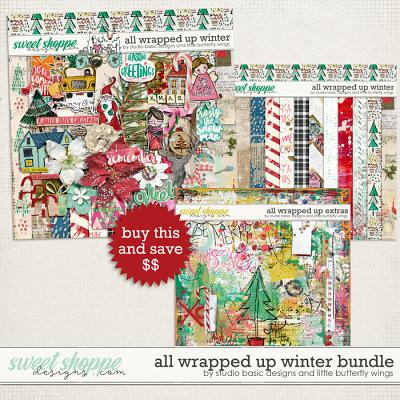 All Wrapped Up Winter Bundle by Studio Basic and Little Butterfly Wings