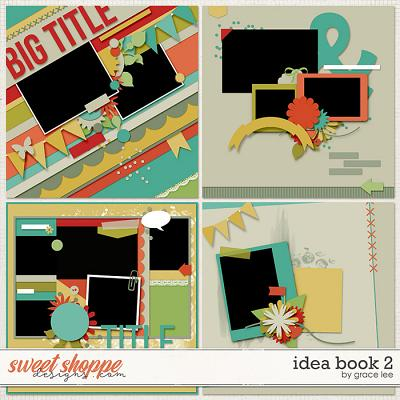 Idea Book 2 Templates by Grace Lee