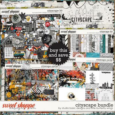 Cityscape Bundle by Studio Basic Little Butterfly Wings