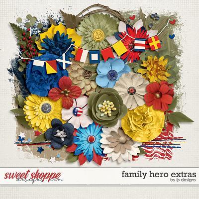 Family Hero Extras by LJS Designs