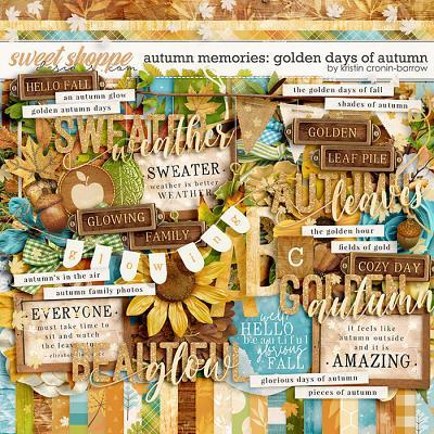 Autumn Memories: Golden Days of Autumn by Kristin Cronin-Barrow
