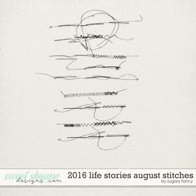 2016 Life Stories - August Stitches by Sugary Fancy