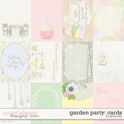 Garden Party: Cards by Grace Lee