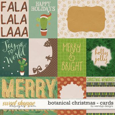 Botanical Christmas - cards by WendyP Designs