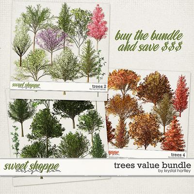 Trees Value Bundle by Krystal Hartley