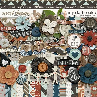 My dad rocks by WendyP Designs