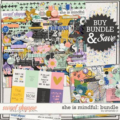 She is mindful: bundle by Amanda Yi