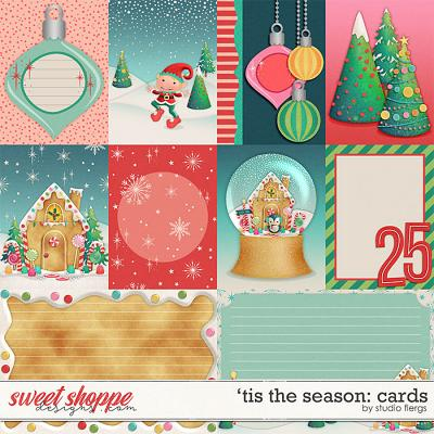'Tis the Season :- CARDS by Studio Flergs