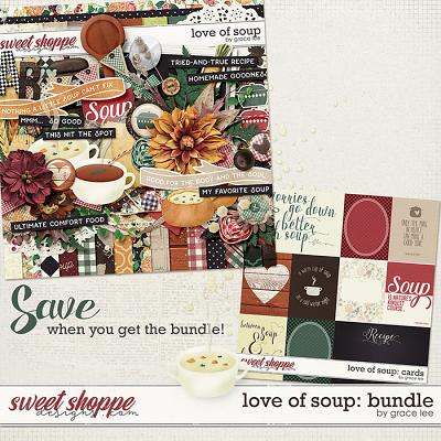 Love of Soup: Bundle by Grace Lee